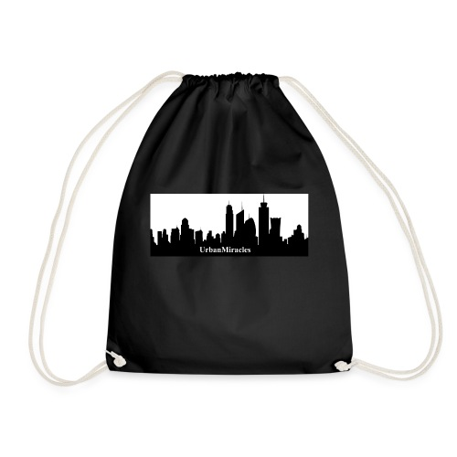um skyline - Drawstring Bag