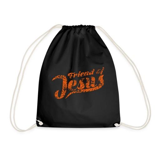 Friend of Jesus orange - Turnbeutel