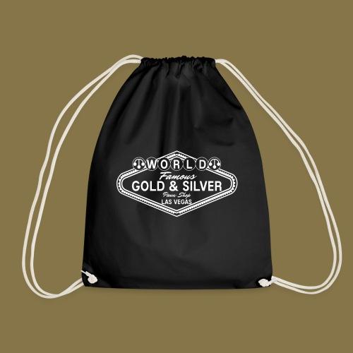 World Famous Gold & Silver Pawn Shop Logo - Drawstring Bag