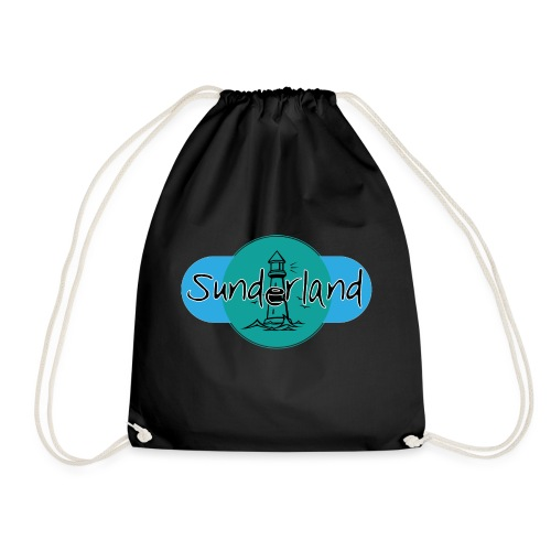 Sunderland Lighthouse Logo! - Drawstring Bag
