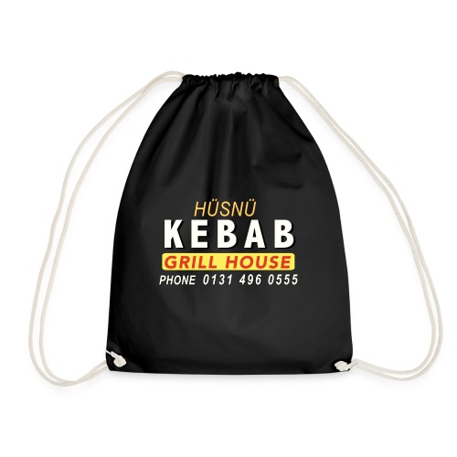 Husnu Kebab Shop - Drawstring Bag