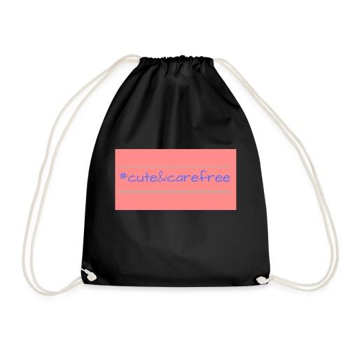Cute & Carefree - Drawstring Bag