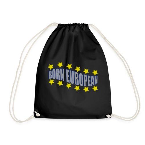 Born European - Drawstring Bag