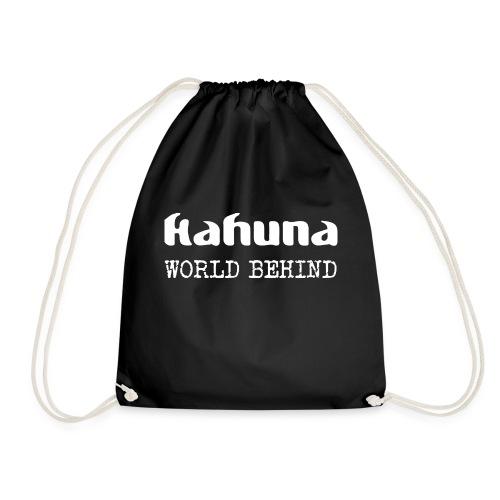 Kahuna Logo und Album - Turnbeutel