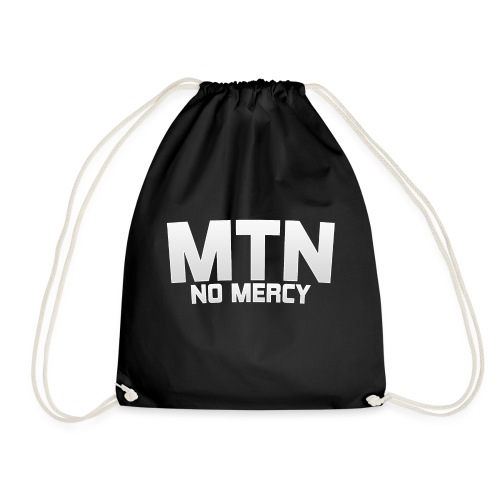 No Mercy by MTN - Drawstring Bag