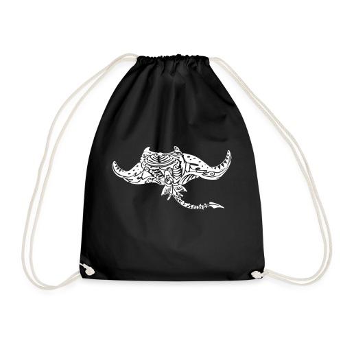 The giant manta - Drawstring Bag