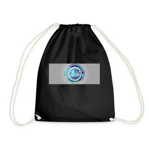 LOGO WITH BACKGROUND - Drawstring Bag