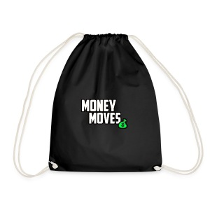 MONEY MOVES - Drawstring Bag
