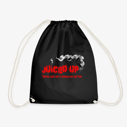 juiced up clothing range vaping just got a whole l - Drawstring Bag