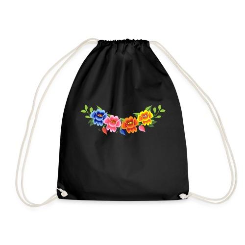 Flores Mexicanas - Mochila saco