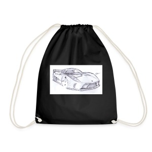 svd sports car - Drawstring Bag