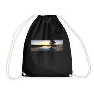 Sunset photo - Drawstring Bag