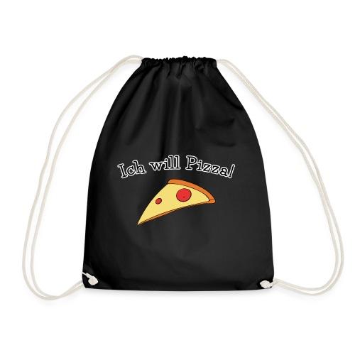 Ich will Pizza das Design zum Kartenspiel - Turnbeutel