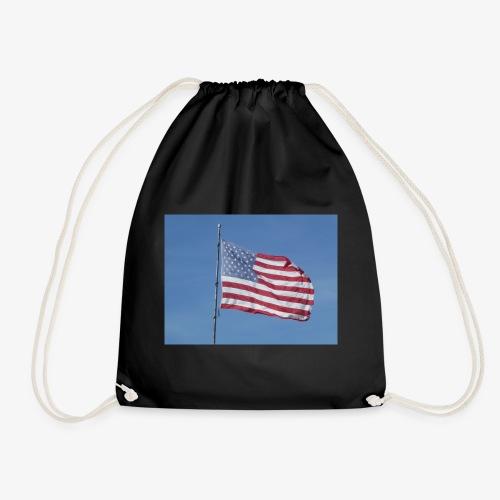 USA Flagge - Turnbeutel