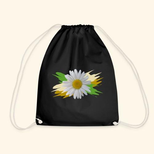 Margeriten Blüte, Blumen, floral, Gänseblümchen - Turnbeutel