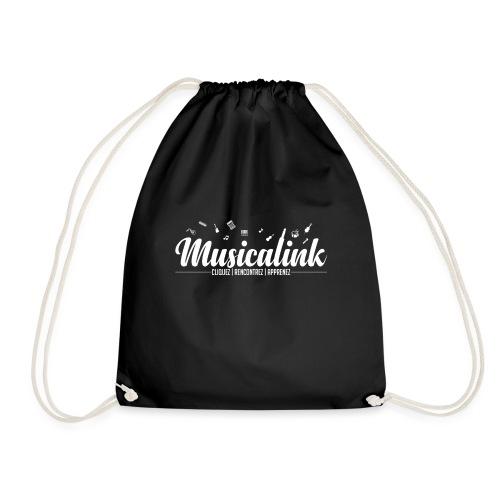 Musicalink white - Sac de sport léger