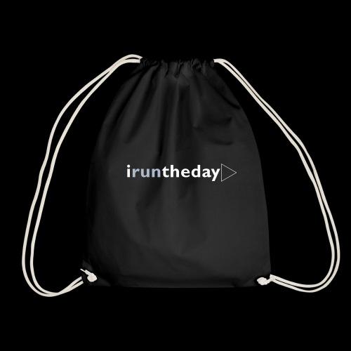 iruntheday clothing range - Drawstring Bag