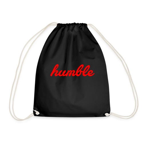 HUMBLE RED SIGNATURE - Drawstring Bag