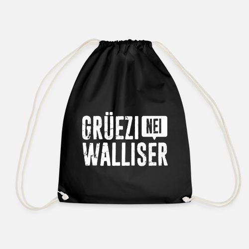 Grüezi – Nei, Walliser - Turnbeutel