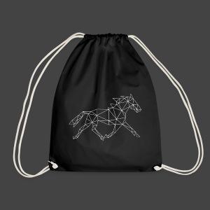 Geometrisch Paard - Gymtas