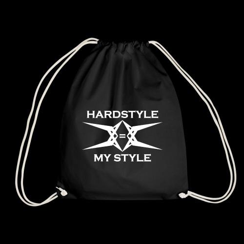 Hardstyle = My Style - Logo White - Gymtas