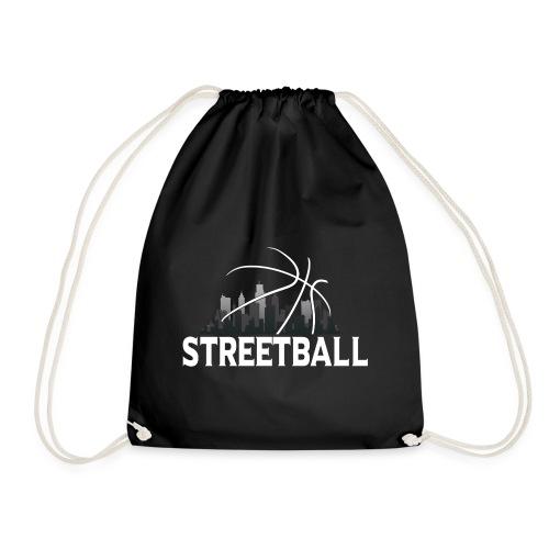 Streetball Skyline - Street basketball - Drawstring Bag