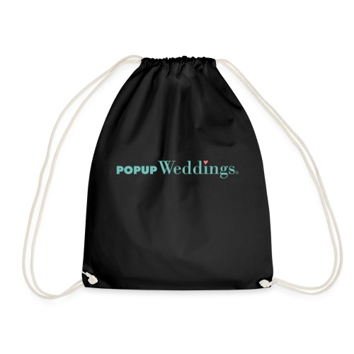 Popup Weddings - Drawstring Bag