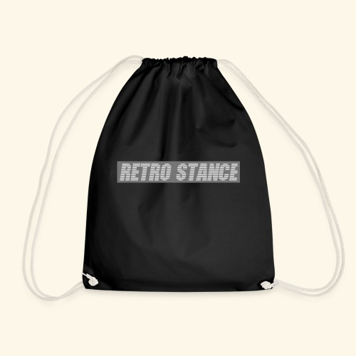 Retro Stance - Drawstring Bag