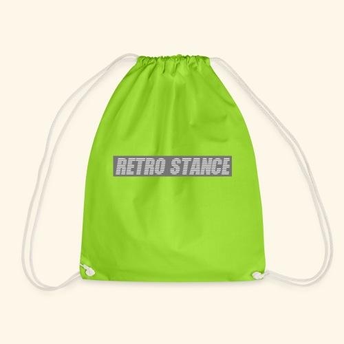 Retro Stance - Drawstring Bag