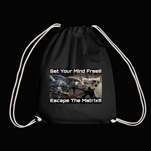 Escape The Matrix!! Truth T-Shirts!!! #Matrix - Drawstring Bag
