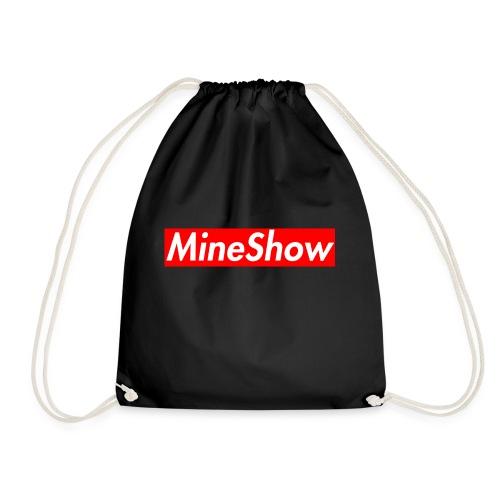MineShow Box-Logo - Turnbeutel