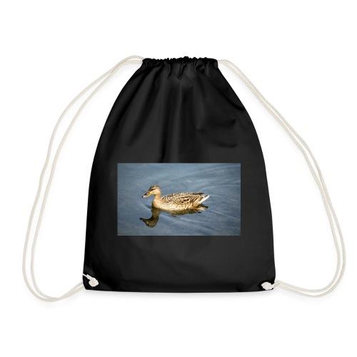Ente im Wasser - Turnbeutel