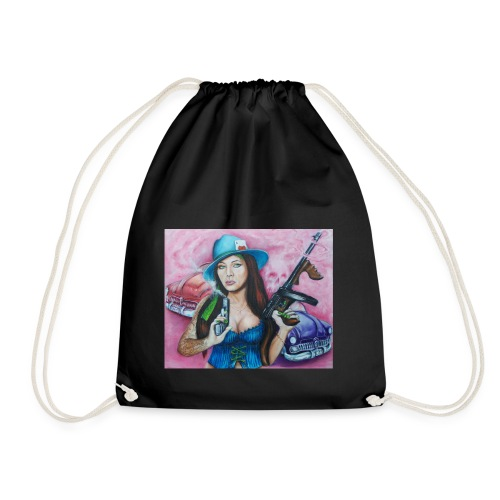 Gangstress - Drawstring Bag