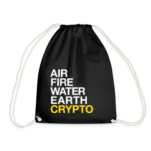 5 Elements - Crypto - Drawstring Bag