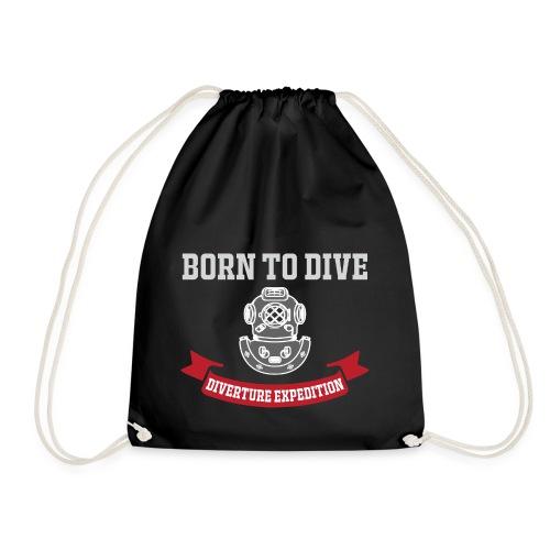 Born to Dive - Turnbeutel