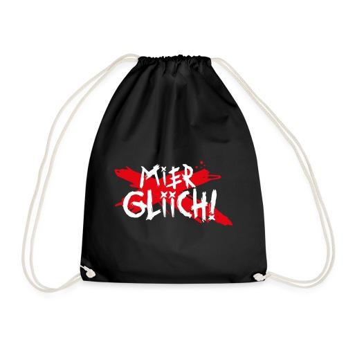 MIER GLIICH! - Turnbeutel