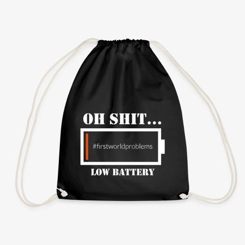 Low Battery - Turnbeutel