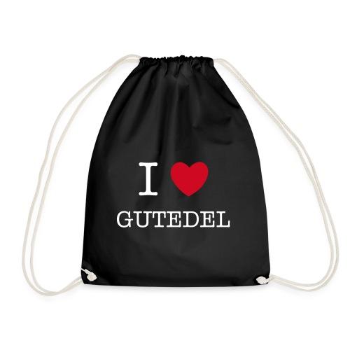 I LOVE GUTEDEL - Turnbeutel