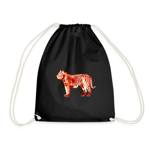 Red Tiger - Drawstring Bag