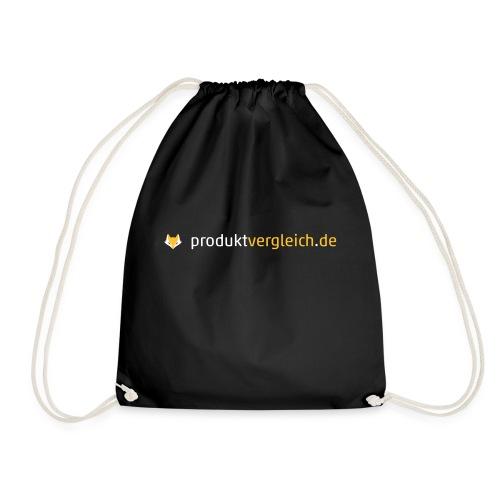180308 Logo Produktvergleich de white orange - Turnbeutel