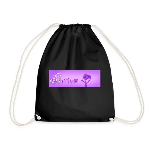 Banner and cheering Grimbo! - Drawstring Bag