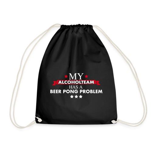 Beer Pong Alcohol Team - Turnbeutel