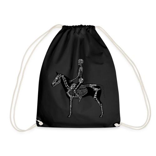 Reiter-Skelett - Drawstring Bag