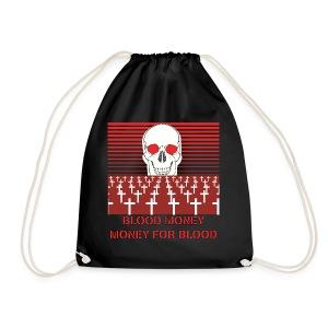 BLOOD MONEY - Drawstring Bag