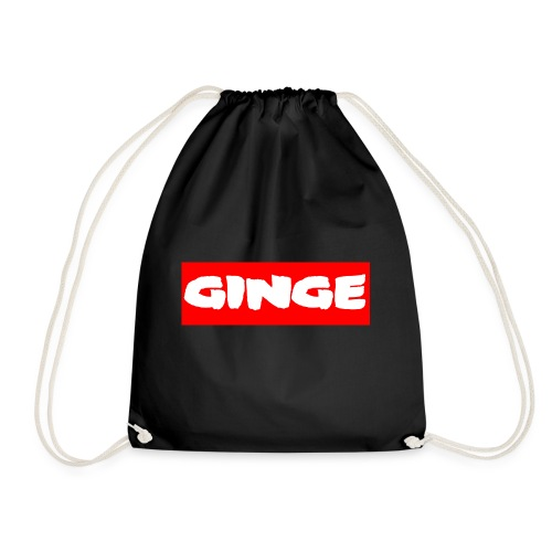 GINGE RED - Drawstring Bag