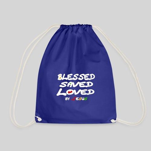 Blessed Saved Loved by Jesus - Turnbeutel