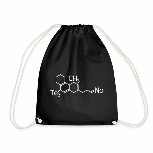 Techno Molekül Chemie Elemente Afterhour Clubbing - Turnbeutel