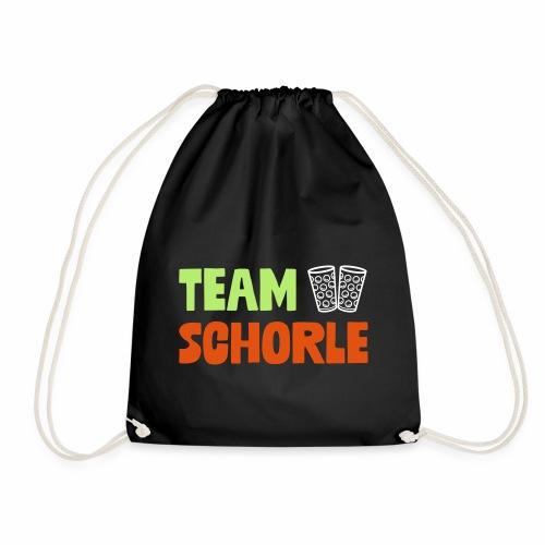 Team Schorle und Dubbegläser - Turnbeutel