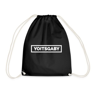 YoIsGaby T-Shirt Wit // man - Gymtas