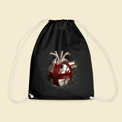 Radball | Cycle Ball Heart - Turnbeutel
